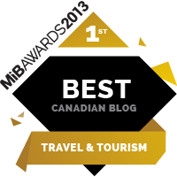Best Canadian Blog Travel & Tourism