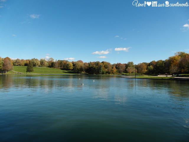 Le lac aux Castors en octobre