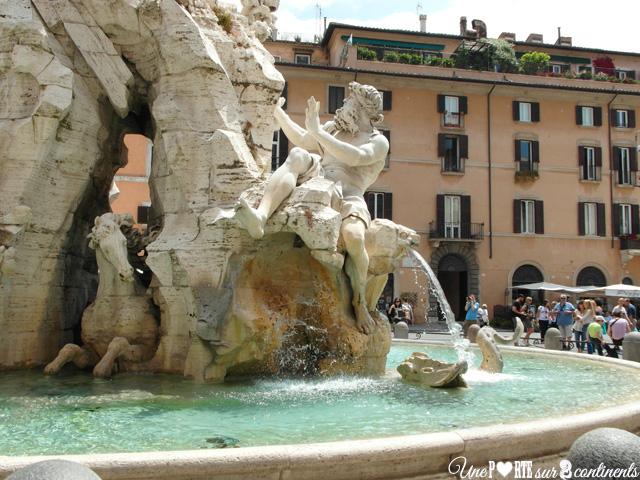 Piazza Navona, la belle