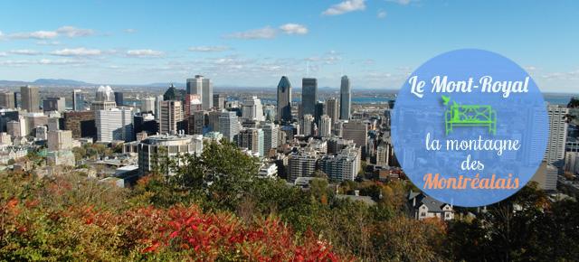 La montagne des Montréalais