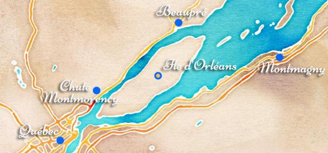 L'Île d'Orléans à vélo
