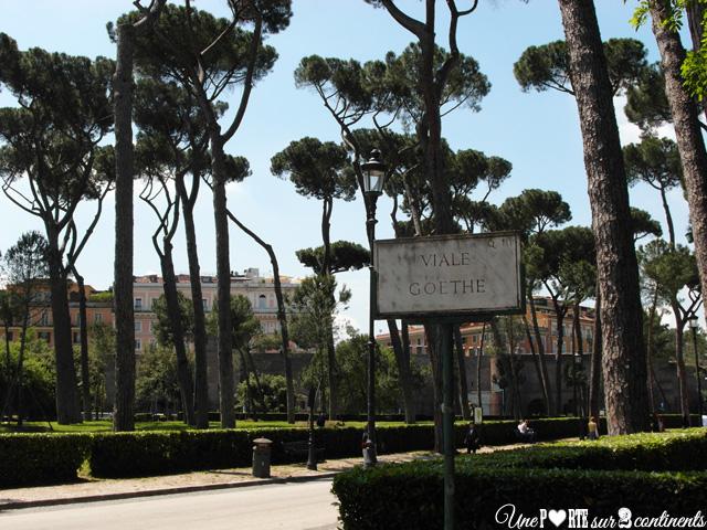 Une matinée à la Villa Borghese