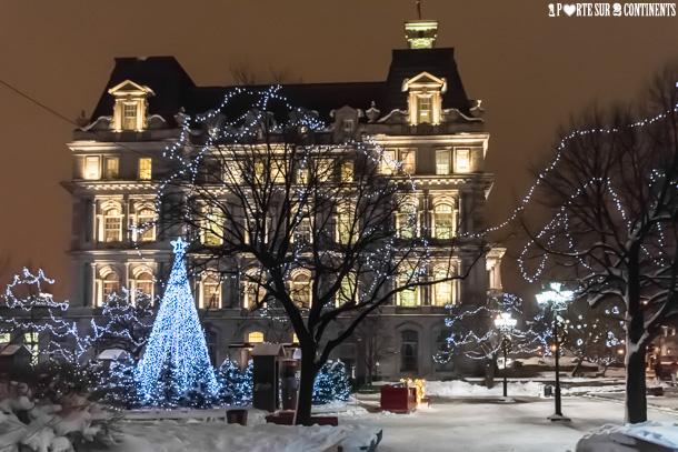 Féérie de Noël dans le Vieux-Montréal