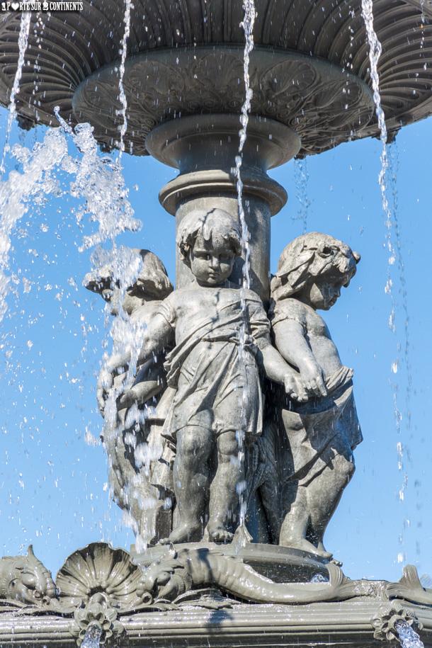 De Bordeaux à Québec: la Fontaine de Tourny