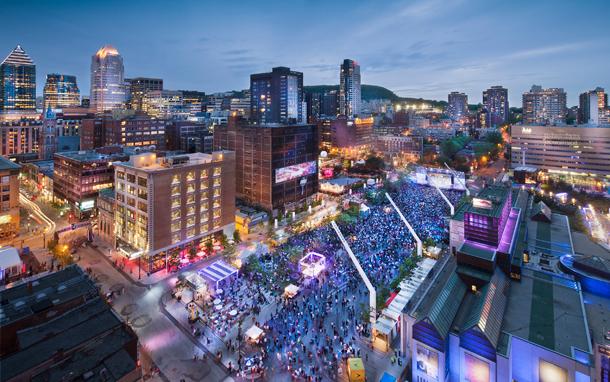 Quartier des spectacles de Montréal