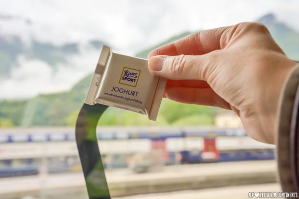 De Zurich à Innsbruck en train