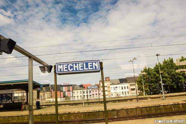 La Belgique en train