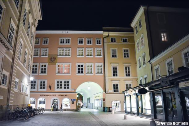 Salzbourg la nuit