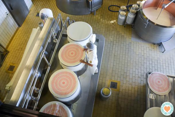fromagerie de démonstration de l'Emmental à Affoltern