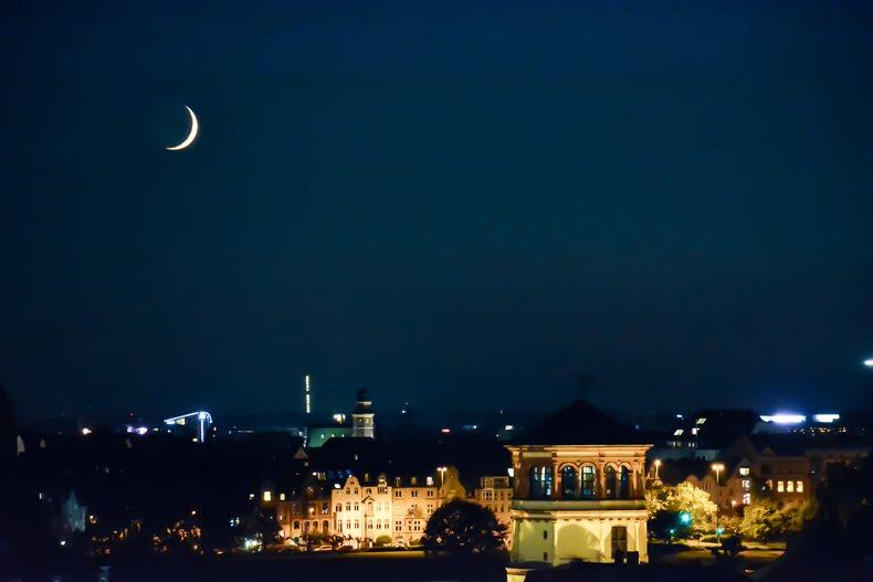 Dusseldorf by night