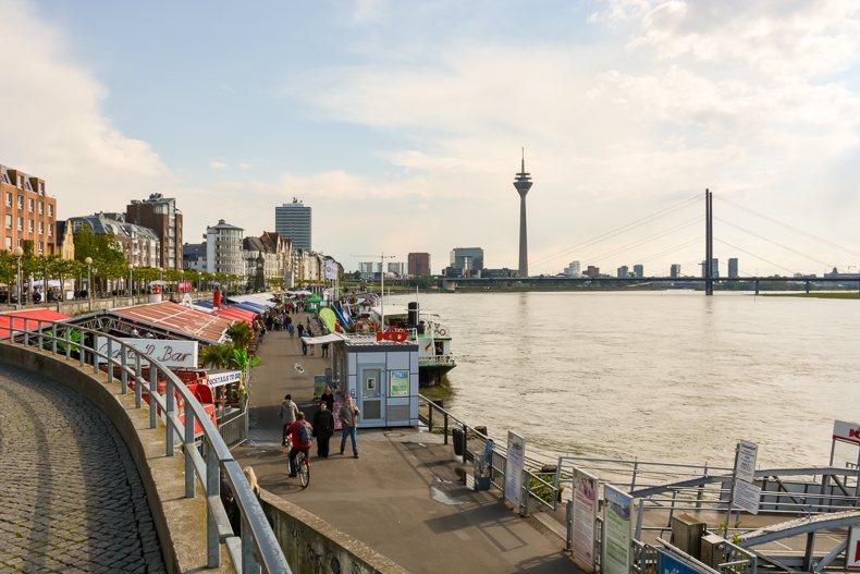 Les rives du Rhin