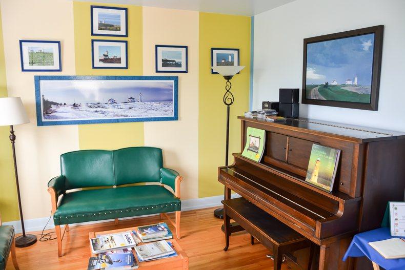 Maison du gardien phare île verte