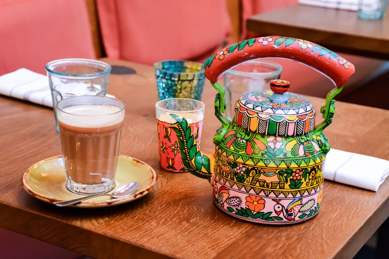 Trader's High Tea au Cinnamon Bazaar de Londres