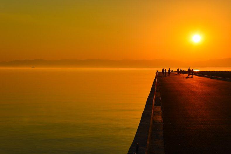 Coucher de soleil à Rivière-du-Loup