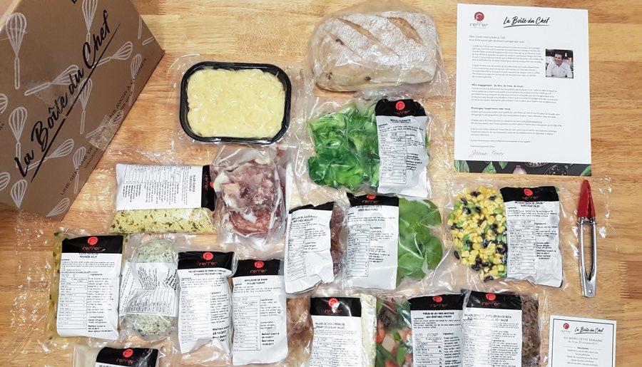 La Boîte du Chef : Jérôme Ferrer s'invite à notre table