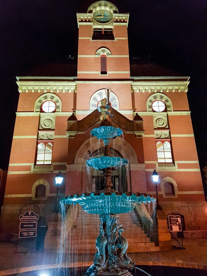 Hôtel de ville Fredericton