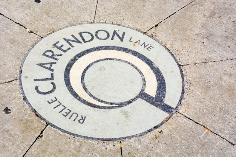 Clarendon Couryard