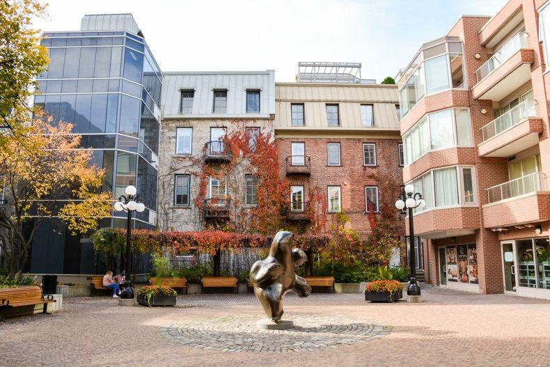 Jeanne d'Arc Courtyard