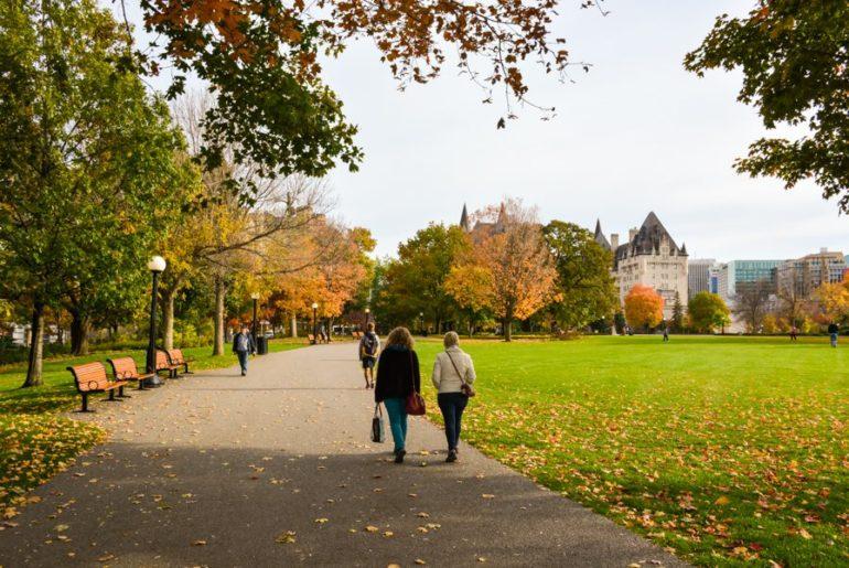 L'automne à Ottawa