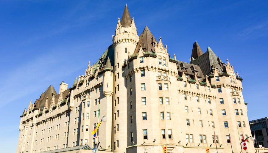 Une nuit de rêve au mythique Fairmont Château Laurier d'Ottawa