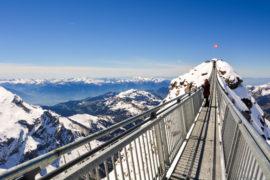 Peak Walk Glacier 3000