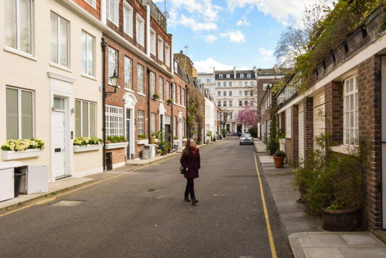 Stanhope Mews London
